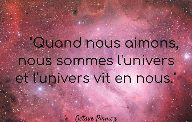 Nous sommes l'univers