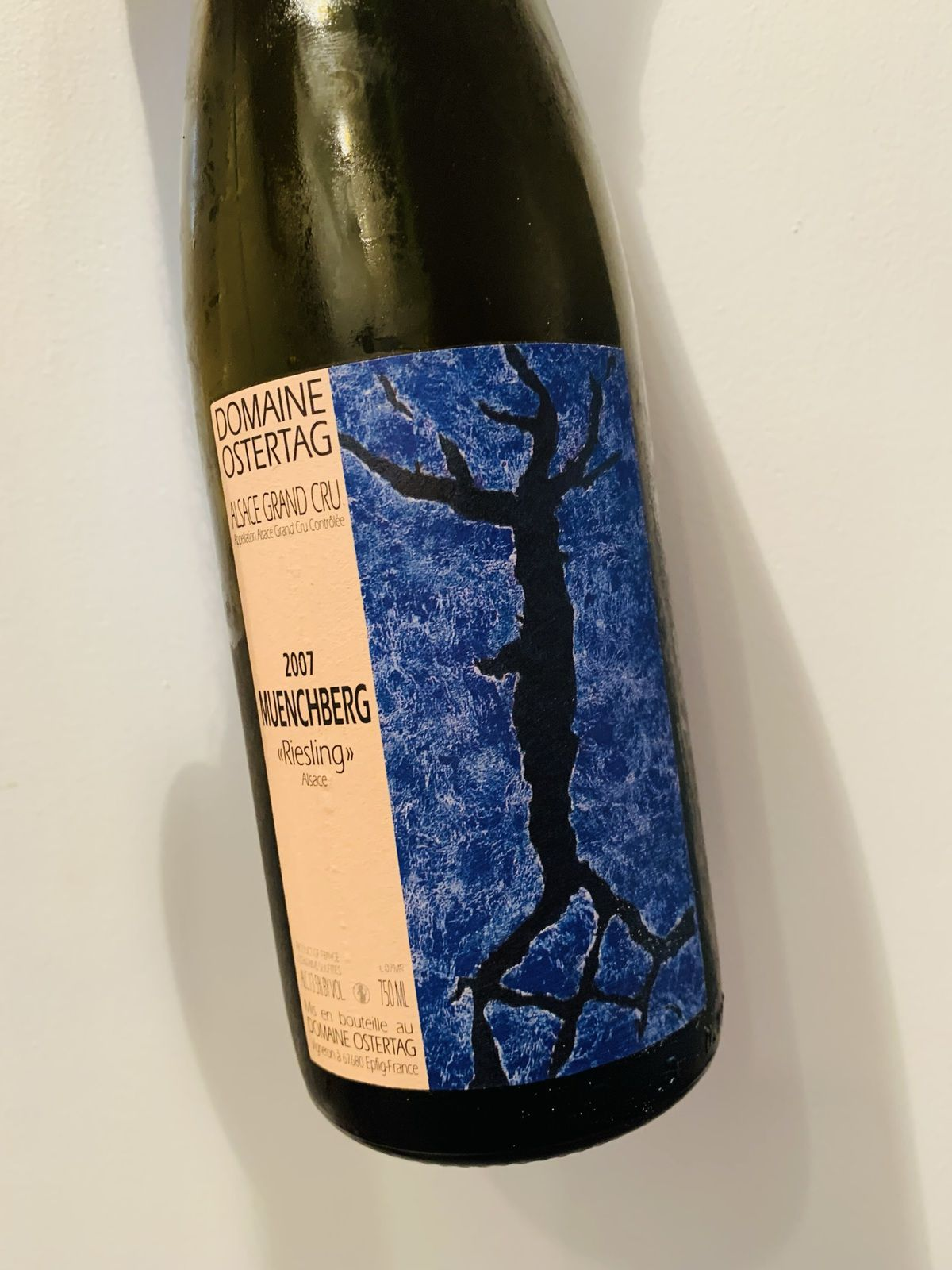 Alsace Grand Cru Muenchberg 2007 Domaine Ostertag