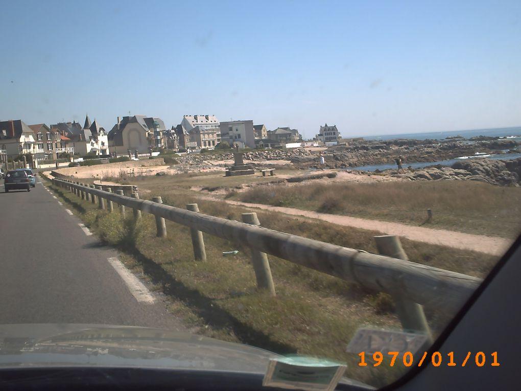 quelques photos de nos escapades en Bretagne, dans les Landes et à Argelès.