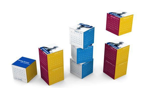 Calendrier-cube