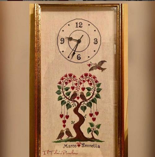 Un orologio o un quadro con un schema di #RenatoPAROLIN ??
