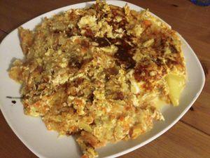 Galette carottes et pommes de terre