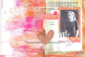 You make me happy_DT Scrap&Co_Défi lift page
