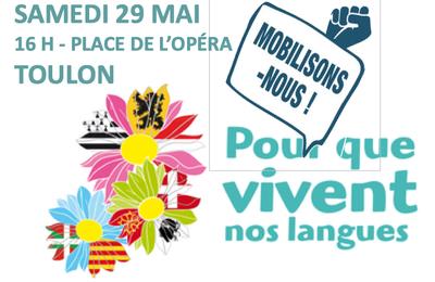 Pour que vivent nos langues : ce samedi, des rassemblements dans toute la France
