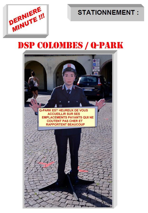 DSP COLOMBES / Q-PARK