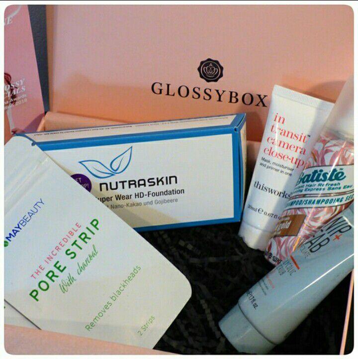 Unboxing de la glossybox d'octobre: Le trio de fonds de teint Super wear HD-Foundation de Nutraskin