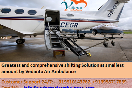 Quick and Trustworthy Charter Air Ambulance from Mumbai with medicinal crewt