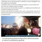 Nous sommes manipulés ! Ukraine - Pétrole - Réseaux Sociaux - Presse - Faux témoignages - Intox - Hoax ... - OOKAWA Corp.