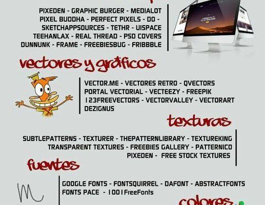 82 Sitios para descargar recursos creativos ¡comparte!