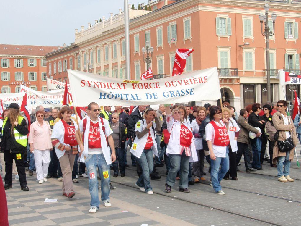 Magnifique défilé à Nice dans l'unité et la joie