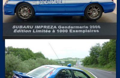 "Subaru Gendarmerie au 1/43ème ""2ème édition"" (Cofradis/Ixo)"