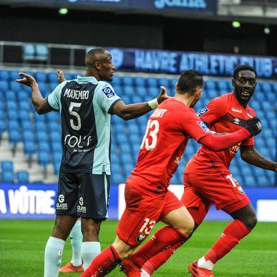 Ligue 2 BKT : Mayembo perd le derby normand face à Oniangue, et Le Havre rate l'occasion de monter sur le podium