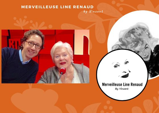 PRESSE WEB: Stéphane Bern fêtera en prime time les 90 ans de Line Renaud cet été sur France 2 !