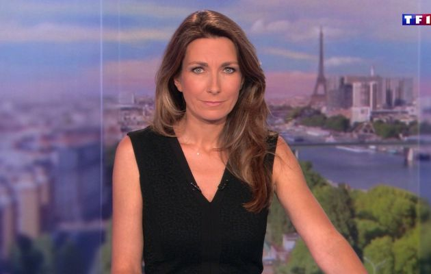 📸23 ANNE-CLAIRE COUDRAY @ACCoudray @TF1 @TF1LeJT pour LE 13H WEEK-END #vuesalatele