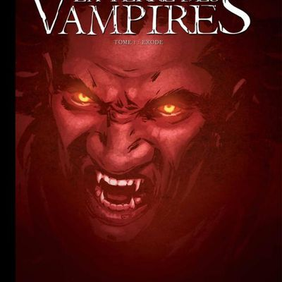 La Terre des Vampires T.1 Toilé Canal BD Munoz Garcia 1200 ex + XL