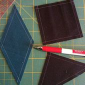 "Sewing ""Y"" Seams - Eight Point Star Quilt Block"
