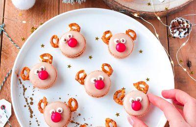 Macarons Rennes du Père Noël