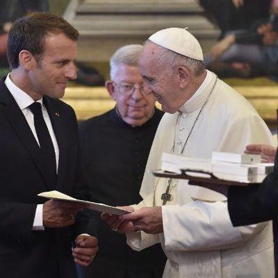 Le voyage du Pape en Irak au coeur d'un entretien avec Emmanuel Macron
