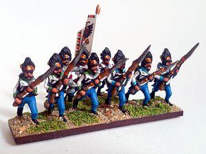 NPoW : Les Autrichiens - l'infanterie hongroise (2)