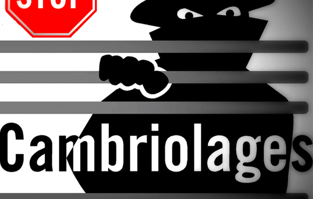 Cambriolage : Attention