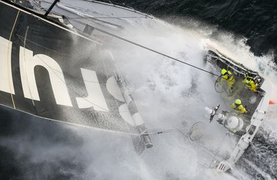 VO65 and Imoca 60 on the 2021-2222 Volvo Ocean Race