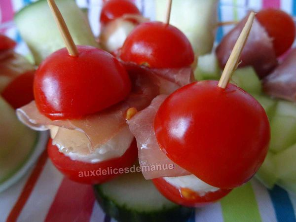 tomate-mozzarella revisitée -LIGHT-