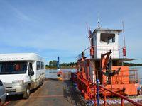 Puerto mani - Puerto Bellavista (Argentine en camping-car) (Paraguay en camping-car)