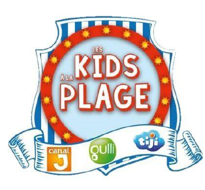 Date de la tournée Les Kids à la plage (Gulli, Canal J et Tiji).