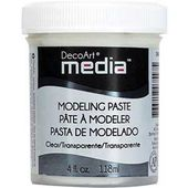 DMM30 : MEDIA MODELING PASTE TRANSPARENTE Fée du Scrap