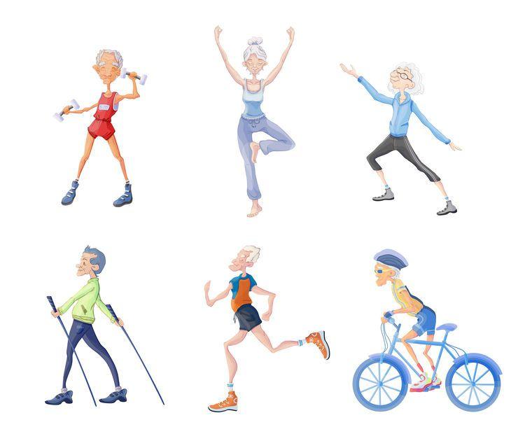 Combien d'heures consacrer à des activités physiques pour rester en forme?