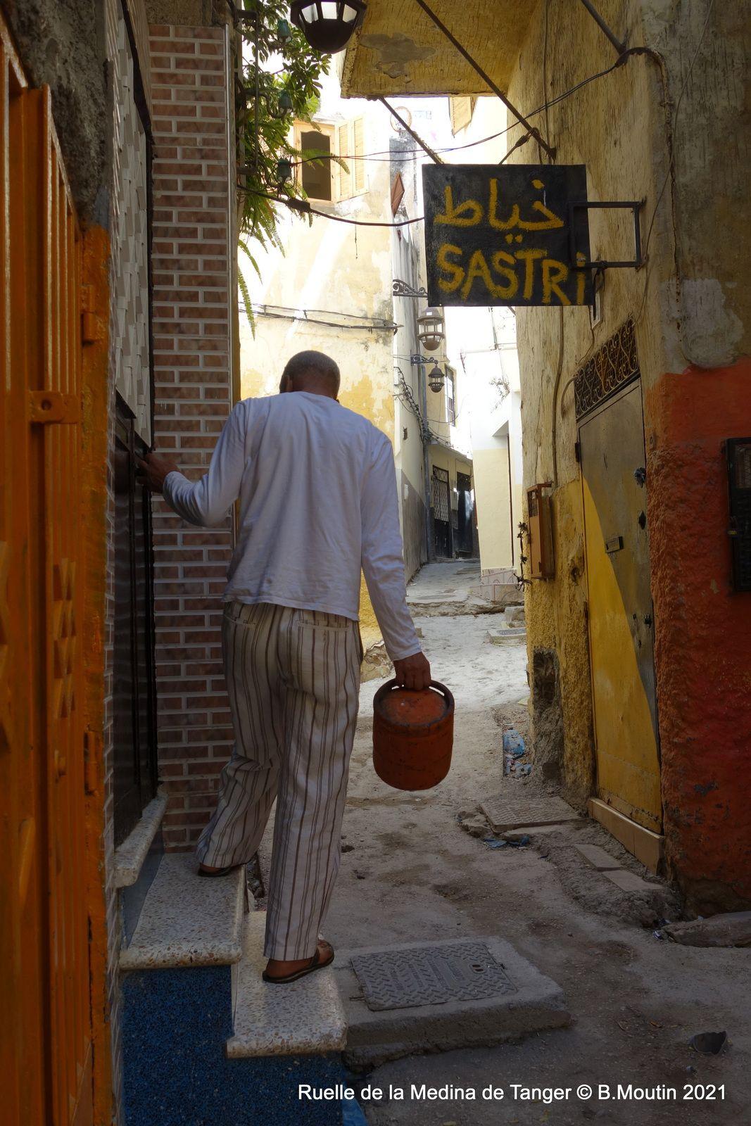 Ruelle de la medina de Tanger