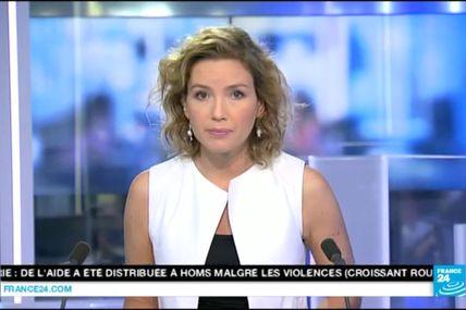 [EN CE MOMENT] JUDITH GRIMALDI pour LE JOURNAL de 12H sur FRANCE 24