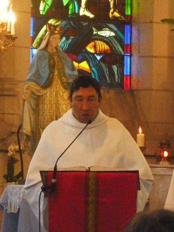 Photos de la première messe de M. l'Abbé Maximim Cès, le 20 mai 2018 .