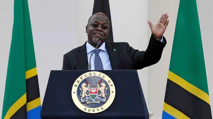 Le président de Tanzanie, John Magufuli, lors d'une visite à Nairobi, au Kenya, le 31 octobre 2016. REUTERS - Thomas Mukoya