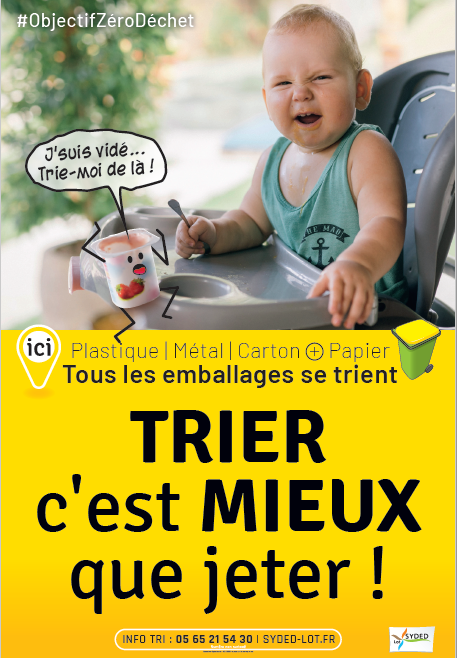"""SYDED campagne """"Trier Mieux"""""""