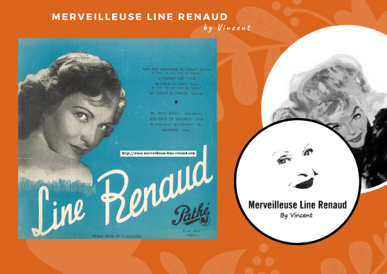 33 TOURS: 1950 Pathé - 33 AT 1004 - Line Renaud