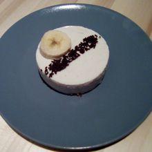 cheesecake à la banane sans cuisson