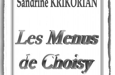 Livre : Les Menus de Choisy