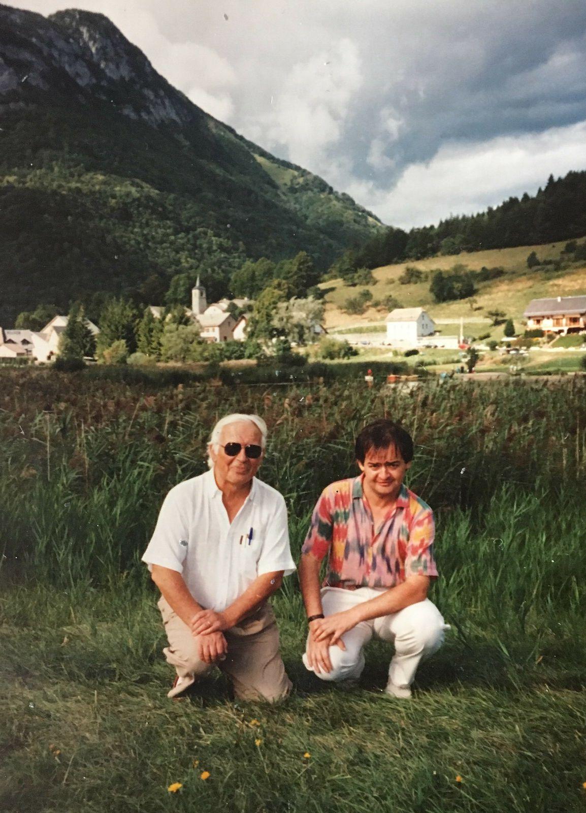 Au lac de La Thuile, sur la même rive