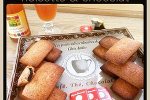 Financiers noisette & chocolat