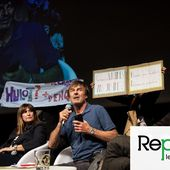 Des féministes chahutent Nicolas Hulot lors d'une conférence