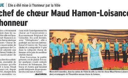 Réception à la mairie de Grenoble