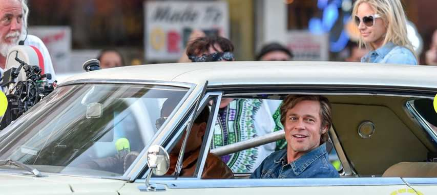 ONCE UPON A TIME IN HOLLYWOOD, IMAGES DE TOURNAGE !