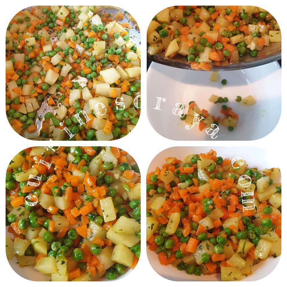 Roulés croustillants aux légumes très rapide