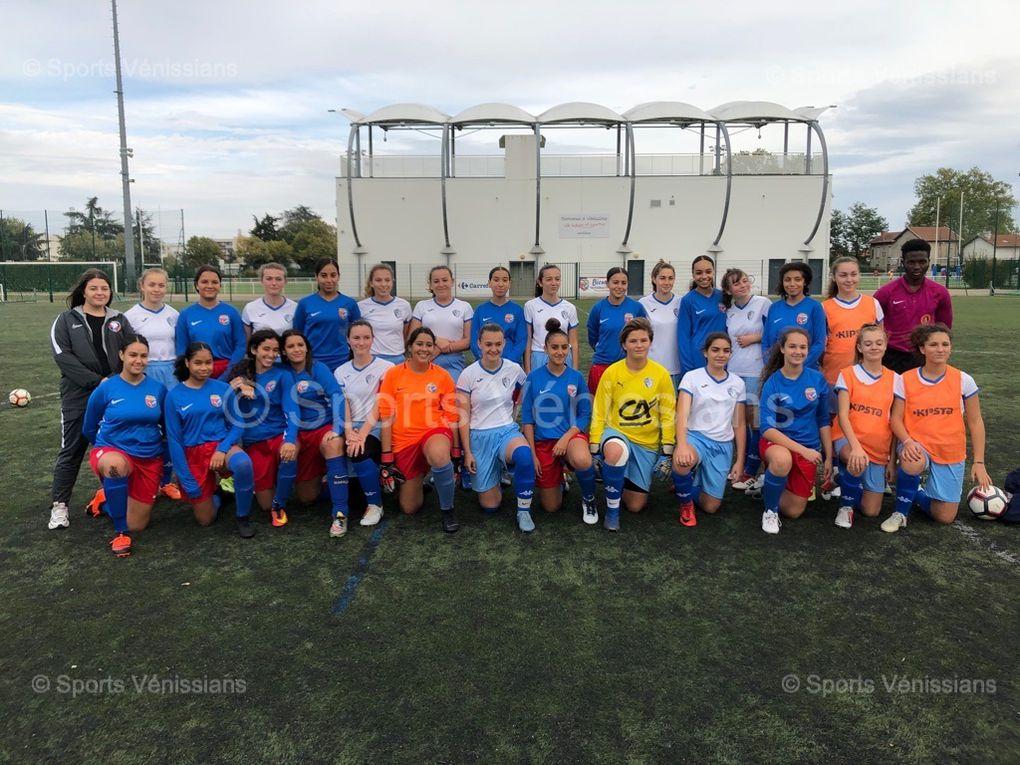 Les U18 féminines de Vénissieux FC se sont inclinées ce samedi face à Chazey d'Azergues