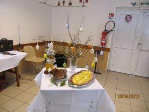 Pâques ou Swieconka à l'association Święta Barbara à Algrange