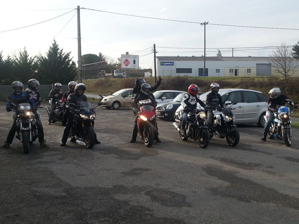 La FFMC32 à La Balade moto de NOEL à TOULOUSE du 2014 12 13