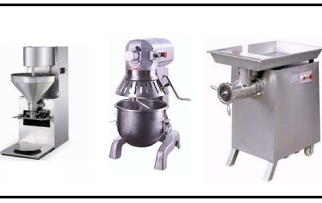 New & Commercial Meat Processing Equipment