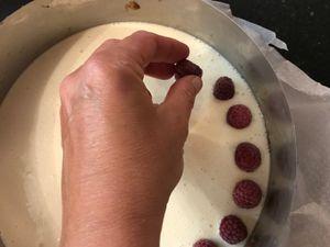 Tarte framboise mascarpone