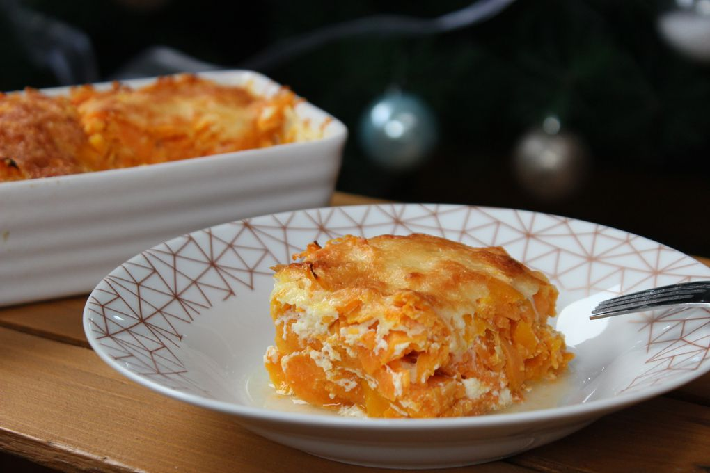GRATIN PATATES DOUCES BUTTERNUT